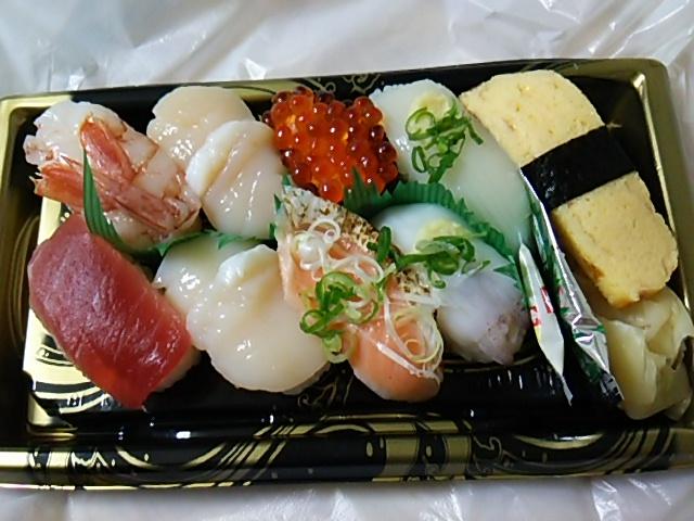 にぎり寿司「旬鮮」開封