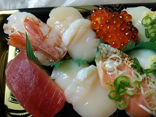 にぎり寿司「旬鮮」左半分