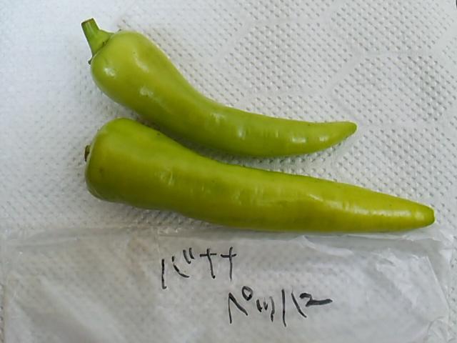 ぼっち村野菜バナナペッパー開封