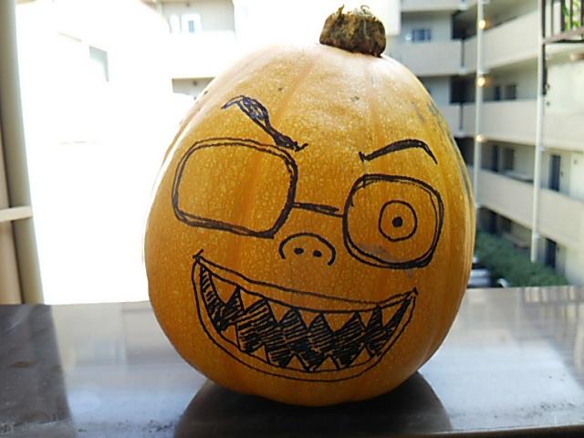 ぼっち村野菜かぼちゃ顔
