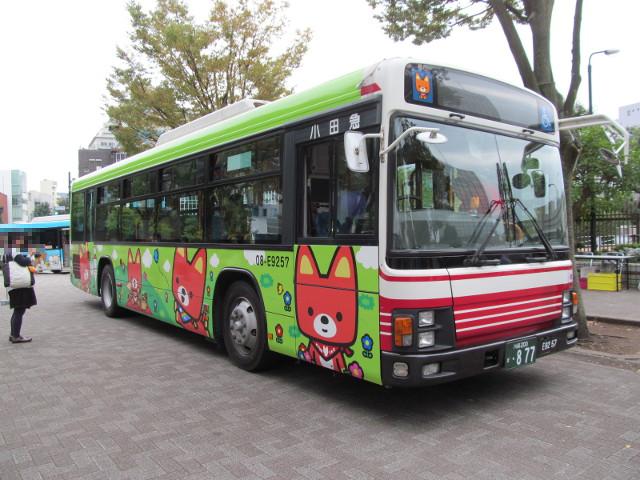 小田急バス右ナナメ前