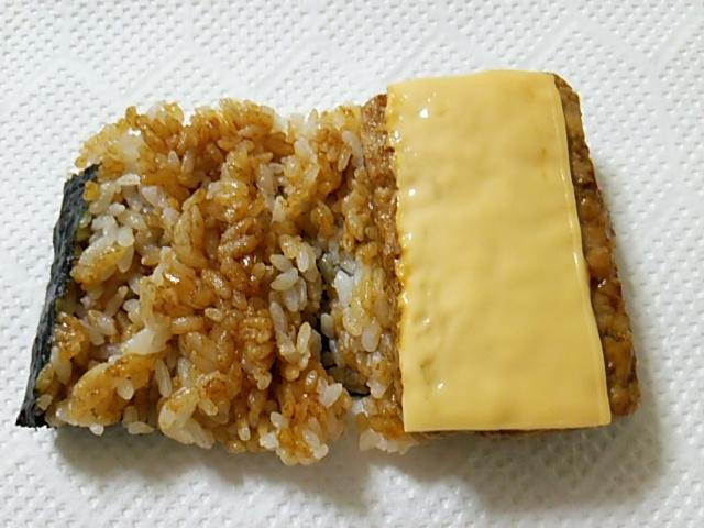 チーズ焼つくね中味