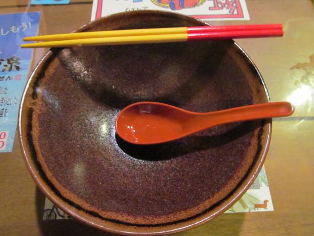 近所の沖縄料理屋さんの沖縄そばを完食