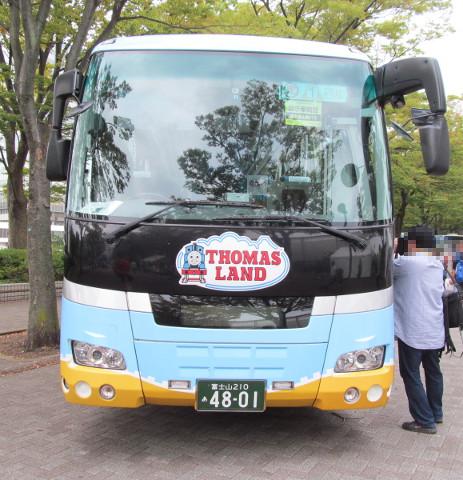 富士急山梨バス正面