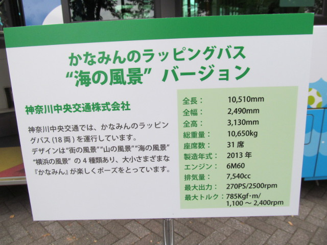 神奈川中央バス説明板