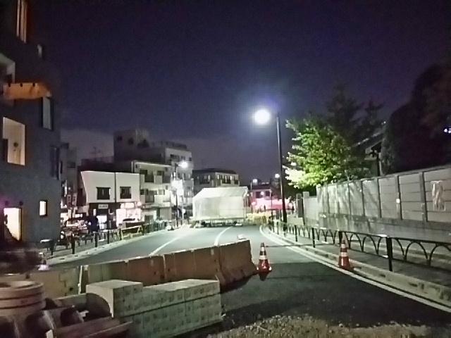 世田谷通りから世田谷駅方向を見る