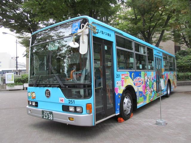 江ノ電バス左ナナメ前