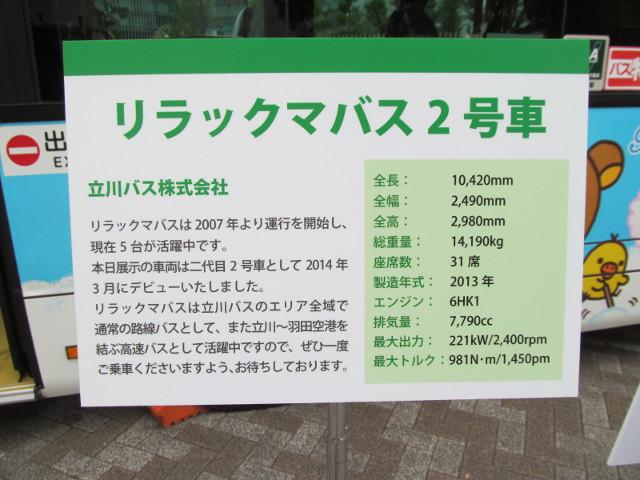 立川バス説明板