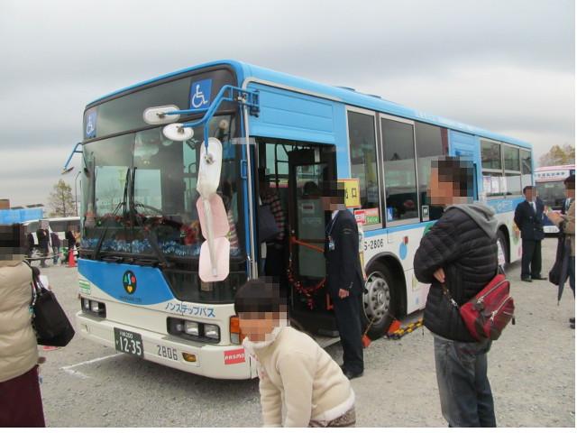 バス利用感謝デー2014川崎市交通局バス左ななめ前