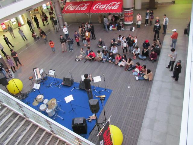 柏MUSIC_SUN2014柏駅東口ファミリー広場