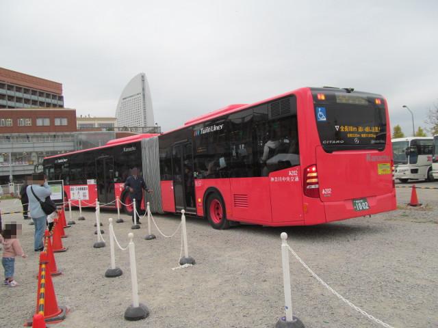 バス利用感謝デー2014連節バス停車