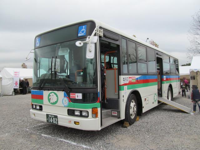 バス利用感謝デー2014伊豆箱根バス左ななめ前
