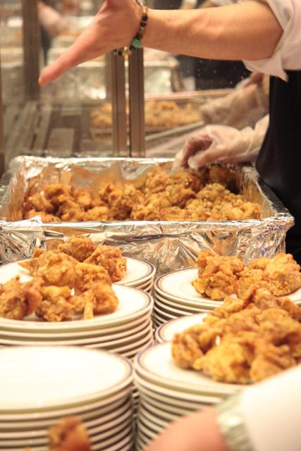 2014忘年謝肉祭昨年の唐揚げたち