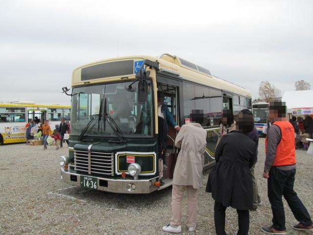 バス利用感謝デー2014箱根登山バス左ななめ前