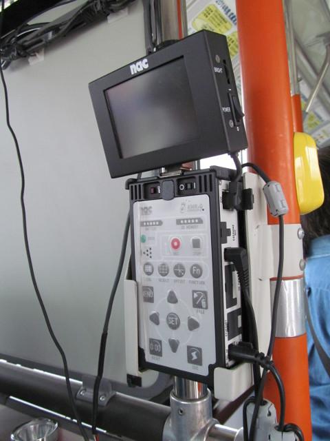 安全運転訓練車アイマークレコーダー