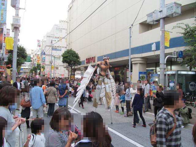 三茶de大道芸2014鳥人間