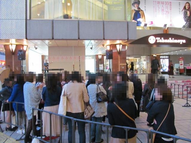 柏MUSIC_SUN2014柏高島屋エントランス