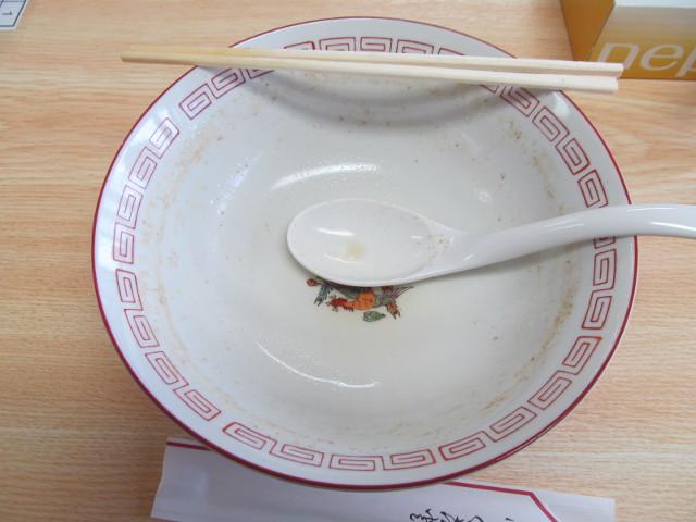 トクだねグルメ祭イートイン稲庭中華そばを完食完飲