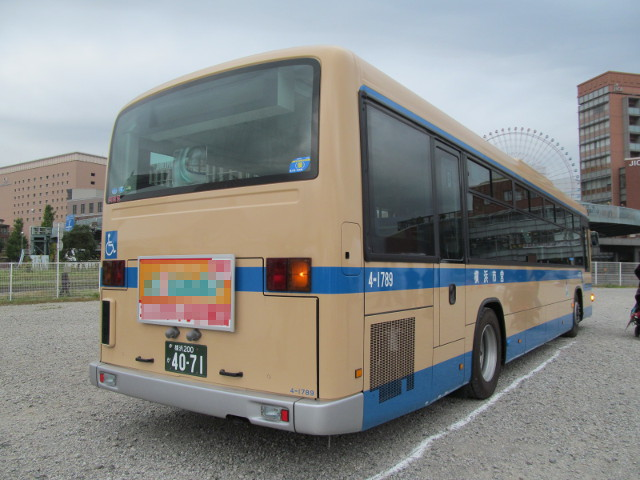 バス利用感謝デー2014横浜市交通局バス右ななめうしろ