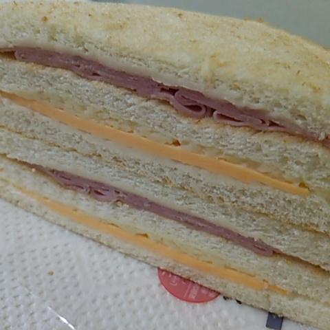 ホットサンドハムチーズサムネイル