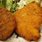 舟よしあじフライと牛肉コロッケセット定食サムネイル