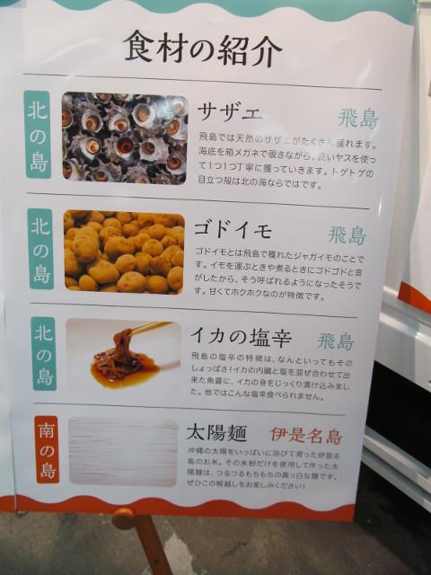 しまパスタ食材の紹介