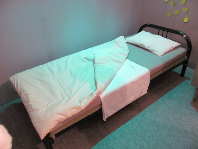 姫ちゃんの部屋のベッド