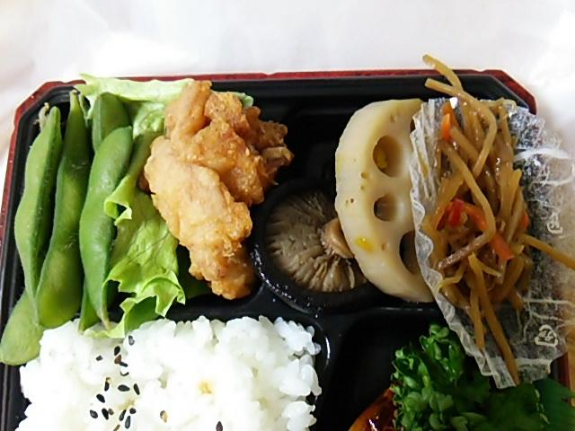 ノルウェー産鯖の照焼御膳の副菜たち