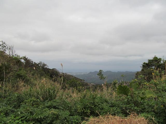八重岳山頂付近からの眺めその1