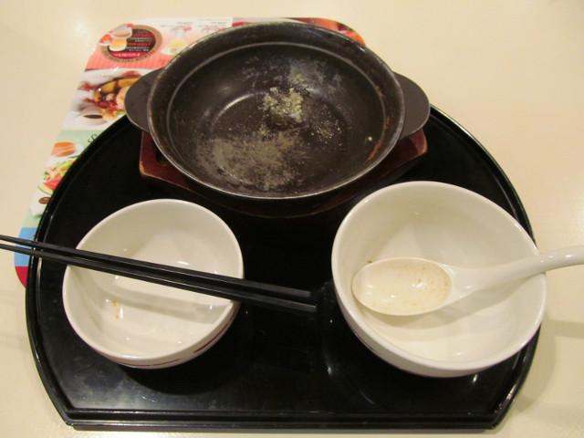 牡蠣味噌ちゃんこ鍋を完食