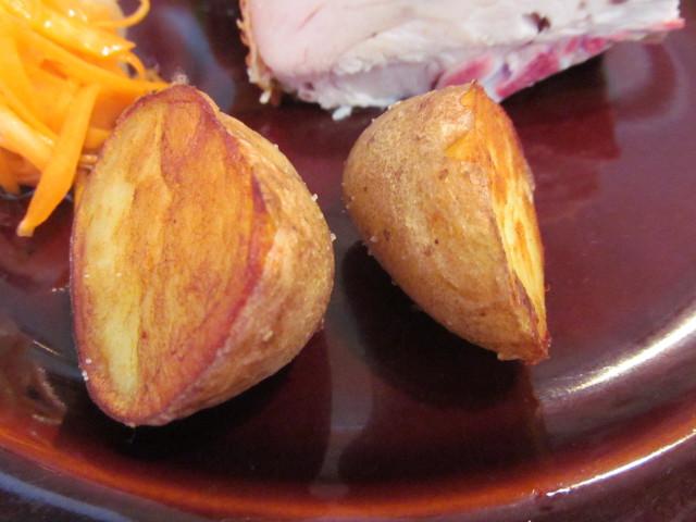 ロティサリーチキンランチのポテト