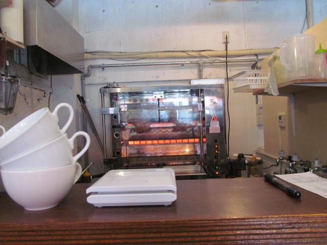 kitchen_a_la_yan厨房のロティサリーオーブン