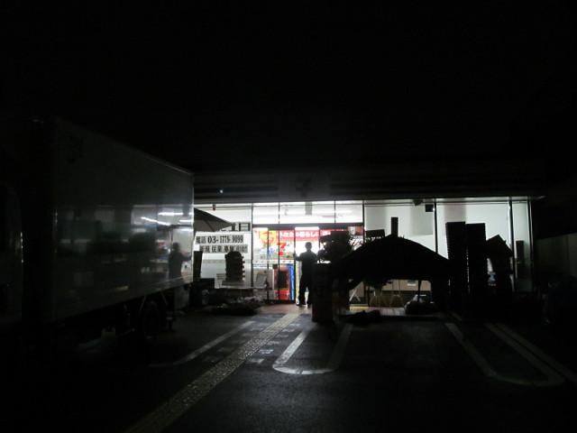 朝4時台のセブンイレブン世田谷弦巻1丁目店その3