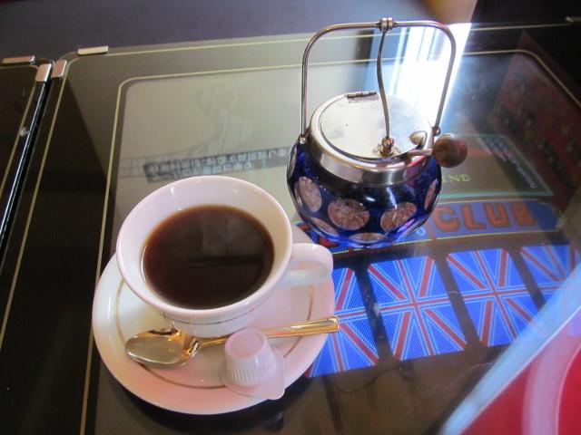 サウスウィンズさんまバターのセットのコーヒー