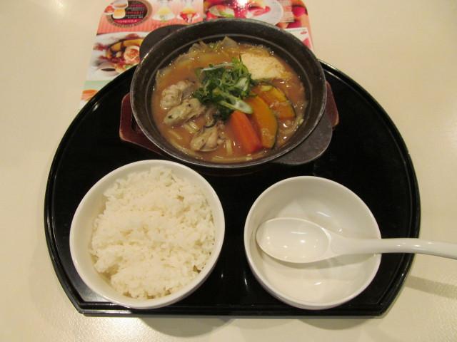 牡蠣味噌ちゃんこ鍋