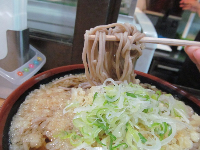 さぬきやたぬきそば大盛の麺20141226