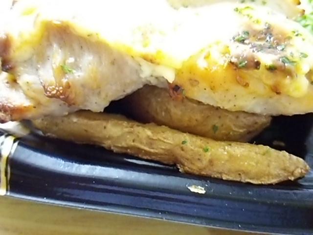 かにクリームチーズ焼チキン弁当のフライドポテト