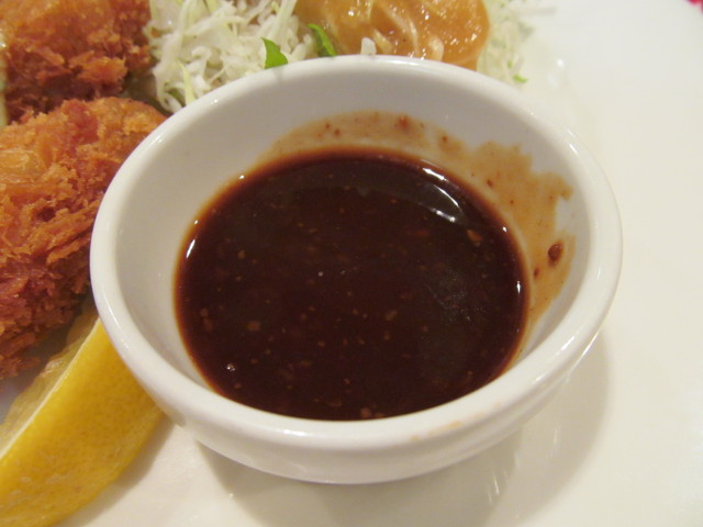 ガスト広島産カキフライのソース