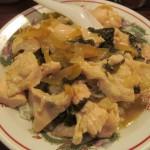 タイガー軒世田谷上町店鶏高菜かけごはんサムネイル