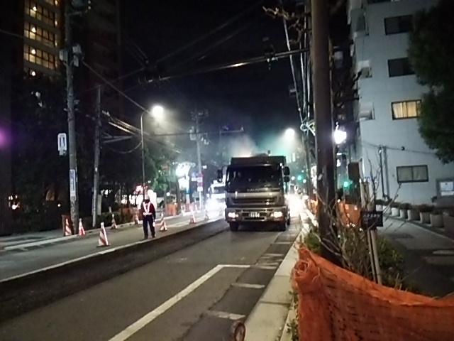 世田谷通り大工事20150203みかみビル前あたり