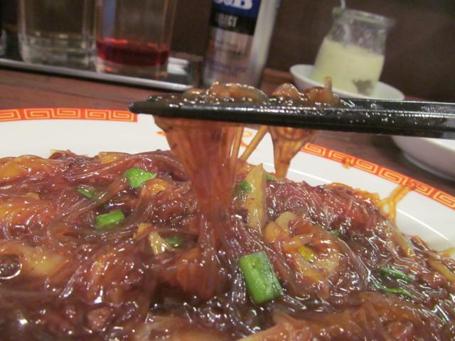 タイガー軒社長製春雨と挽き肉の炒め煮の春雨