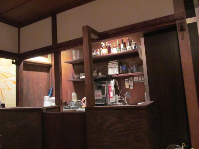 タイガー軒世田谷上町店の2階のスタッフ用カウンター