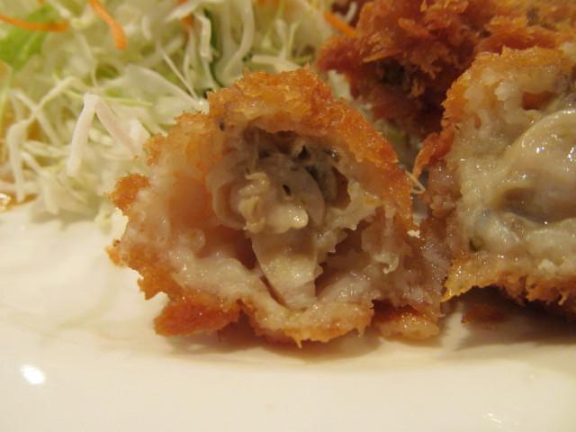 ガスト広島産カキフライのカキフライの断面3