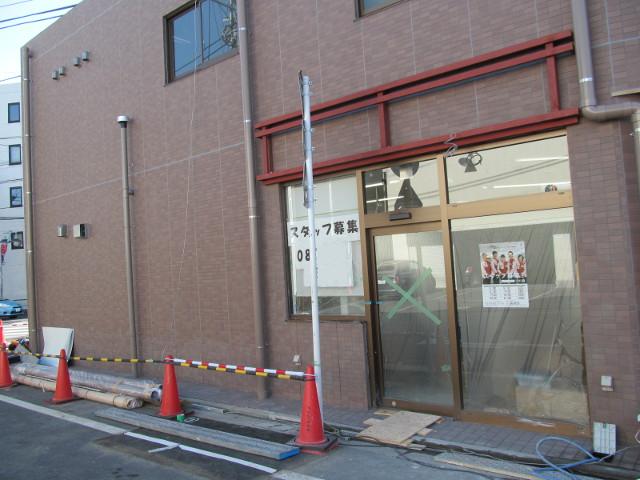 セブンイレブン世田谷桜小前店工事中反対側2