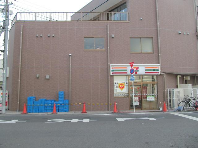 セブンイレブン桜小前店開店前日もう1つの入り口