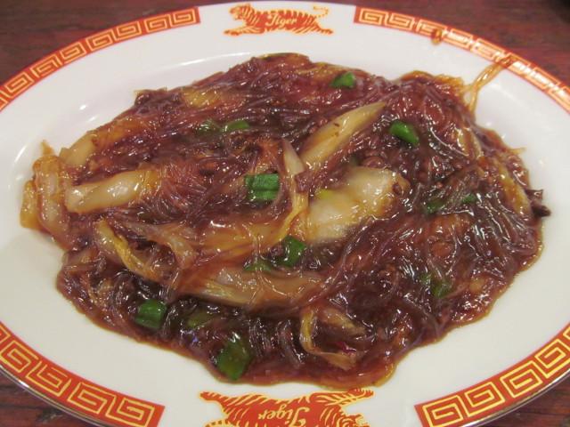 タイガー軒社長製春雨と挽き肉の炒め煮