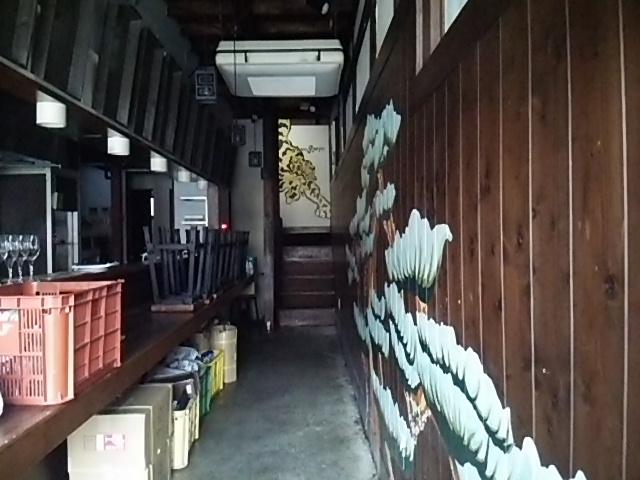 タイガー軒世田谷上町店の店内客席側