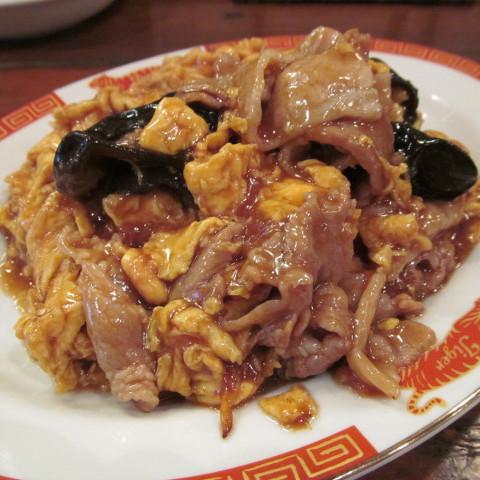 タイガー軒玉子キクラゲ豚炒め定食サムネイル