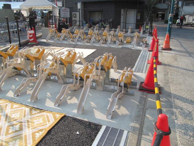 世田谷駅前駐輪場3