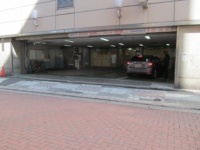 東急プラザ渋谷立体駐車場入口